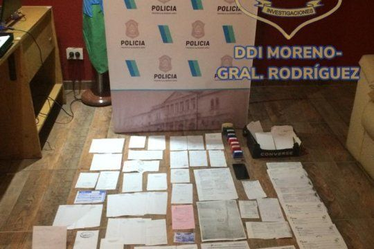 Desbarataron una red de venta de certificados médicos truchos en José C. Paz