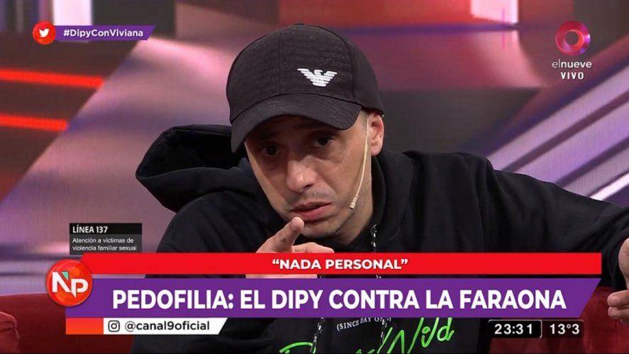El Dipy y Viviana Canosa tildaron de influencer pedófilo a Martín Cirio