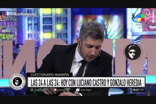 Luciano Castro y gonzalo Heredia con Jey Mamón
