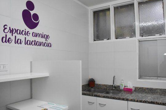 maternidad y trabajo: loteria inauguro un espacio especial para la lactancia en su edificio de la plata