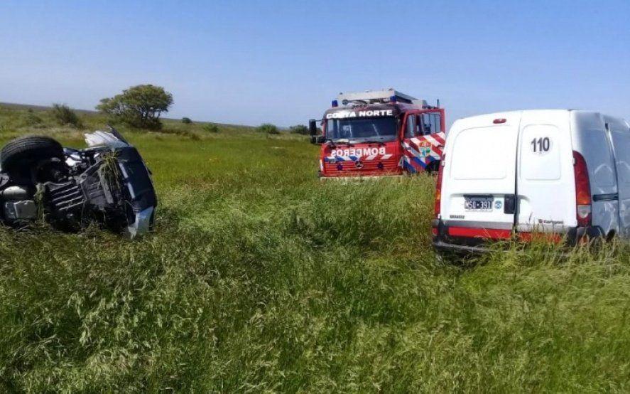 Inseguridad vial: dos muertos y un herido grave en un choque frontal sobre la ruta 11