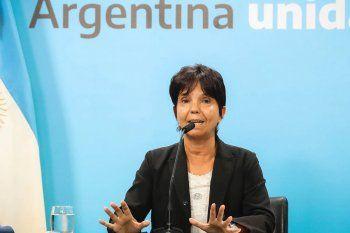 La titular de la AFIP, Mercedes Marcó del Pont anunció las medidas
