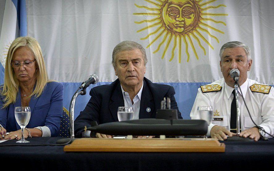 "ARA San Juan: Esteban Bullrich defendió a Aguad y dijo que ""no le cabe ninguna responsabilidad"""