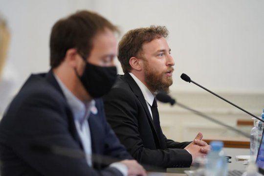 Otermín defendió el Presupuesto 2021
