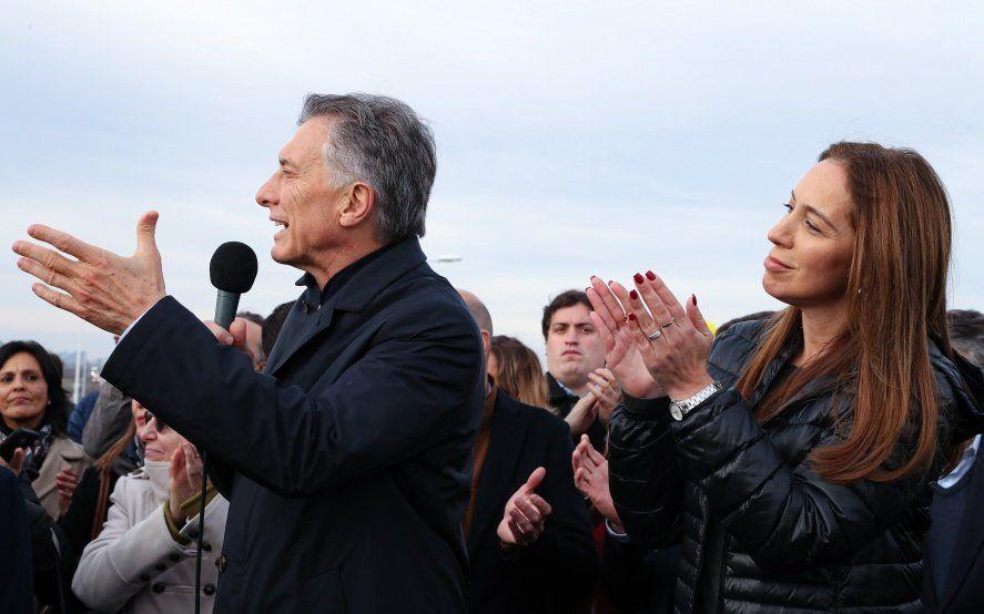 En campaña, Vidal y Macri juntos en la inauguración de tramo nuevo de la Ruta Nacional 7