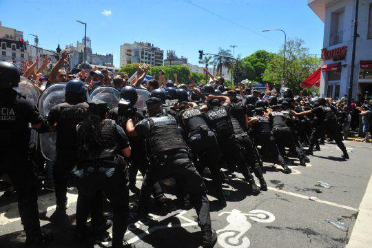 El gobierno nacional culpó de la represión policial al gobierno de Larreta