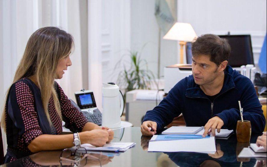 Malena Galmarini y Kicillof avanzaron en la planificación de obras de agua y cloacas para la Provincia