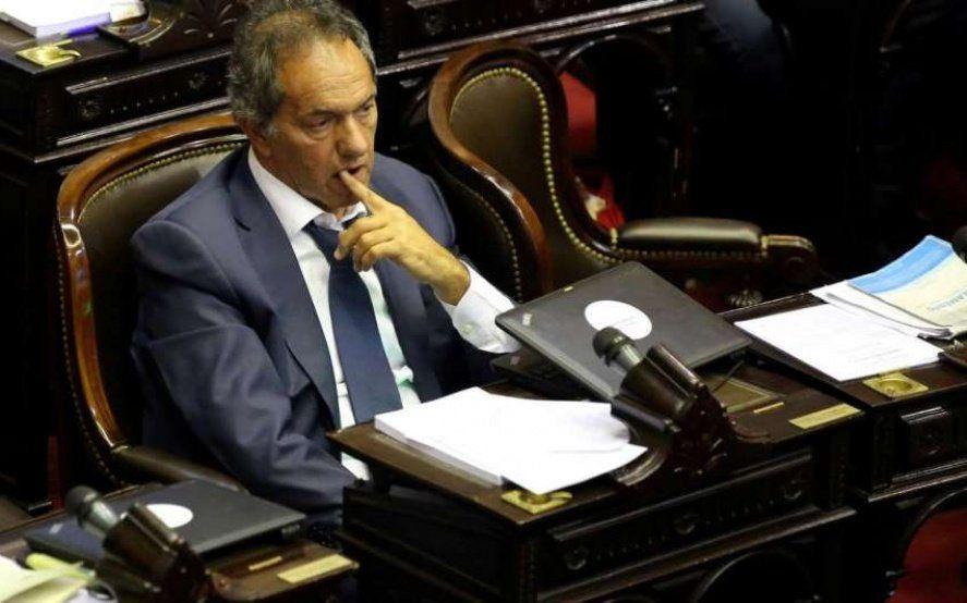"""Scioli: """"En 2015 era cambio o continuidad, ahora es ajuste o desarrollo"""""""