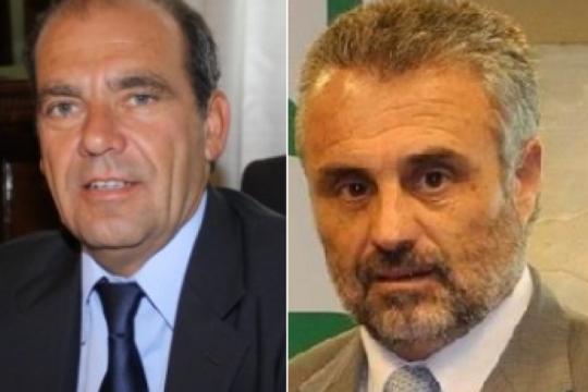en suarez y patagones, dos ex intendentes preparan su retorno con el apoyo de sus adversarios internos