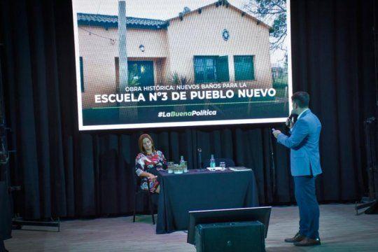 les canto las cuarenta: un intendente expuso a la oposicion en plena apertura de sesiones