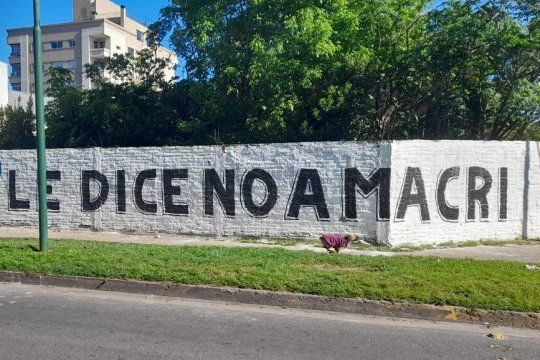 No a Macri, la consigna del peronismo de cara a las elecciones de noviembre.