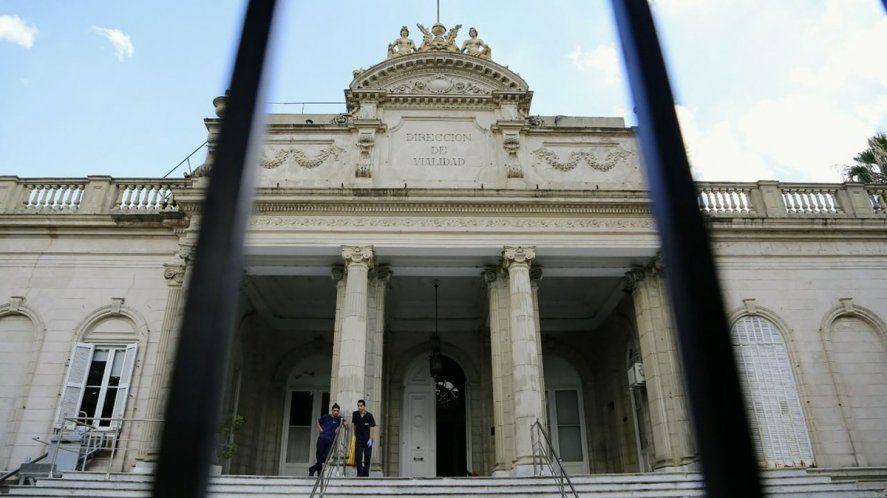 Sede de los tribunales platenses