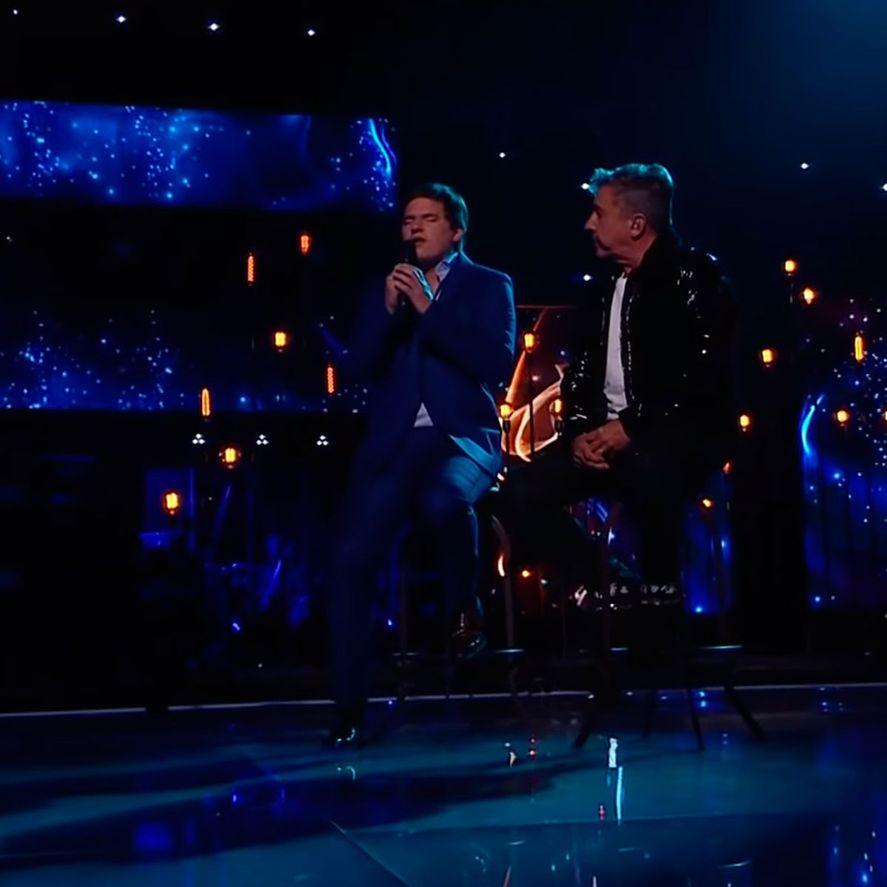 La Voz Argentina: Ricardo Montaner se emocionó al cantar con Nahuel Pennisi