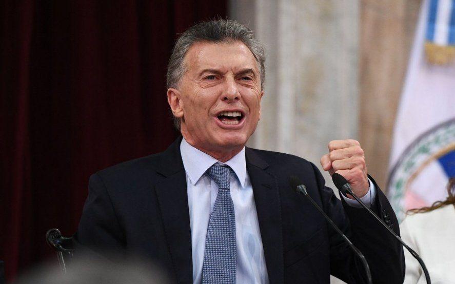 """Para Macri, la crisis es porque el """"mundo duda que por ahí los argentinos quieren volver atrás"""