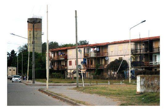 La batala campal fue en el barrio de las 512 viviendas en Pergamino
