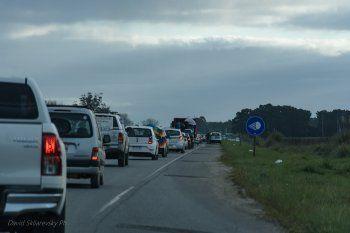 Masiva caravana en Mar Chiquita para exigir un freno a las fumigaciones