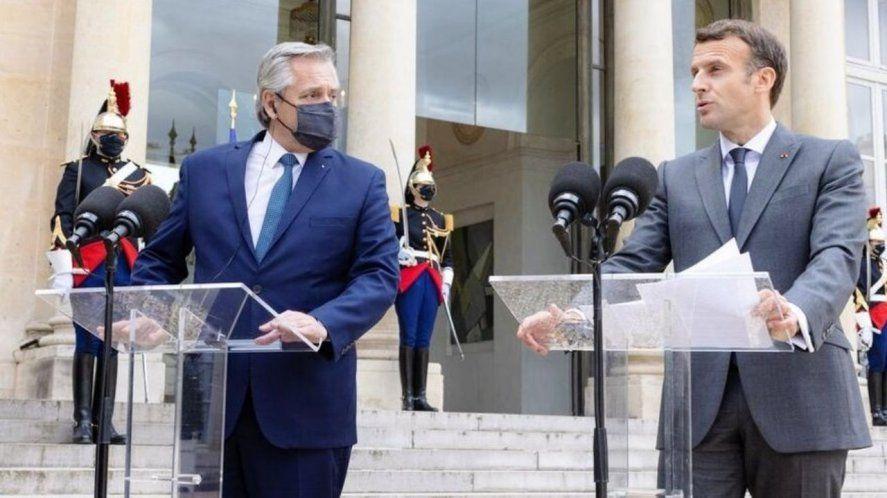 Deuda con el FMI: Alberto Fernández sumó el apoyo de Macron