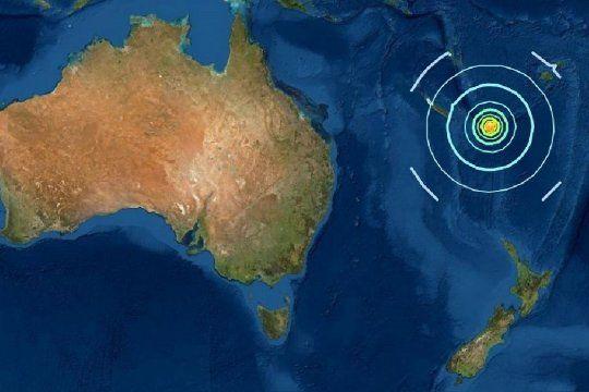 reportan un tsunami en australia tras un sismo en el pacifico