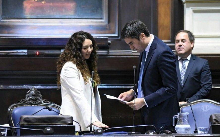 Antes que Merquel: quién fue la primera mujer en presidir la Cámara de Diputados