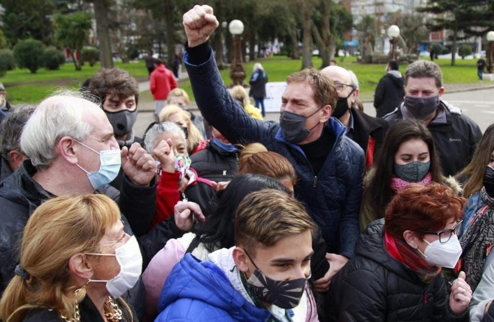 elecciones: diego santilli sube al ring a maximo kirchner