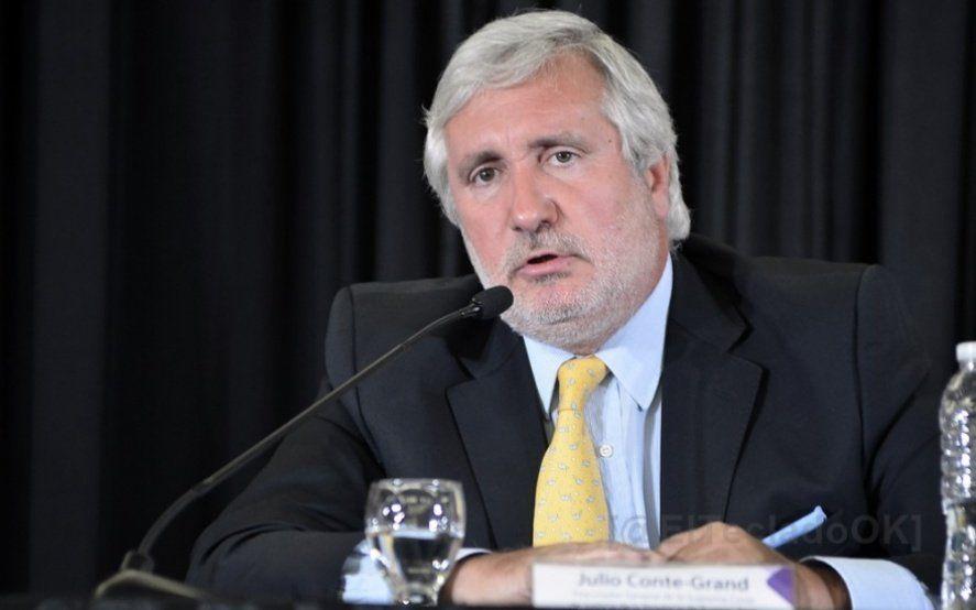 El procurador Julio Conte Grand