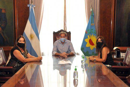Garro se reunió con concejalas de Ensenada