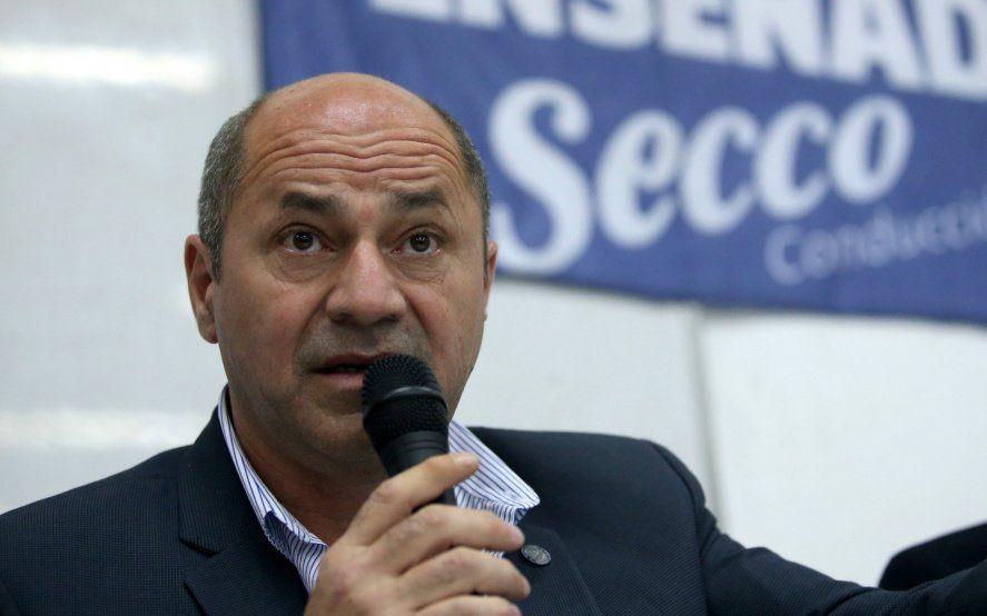 """Mario Secco: """"le estamos diciendo a Alberto que mande fondos para la seguridad"""""""