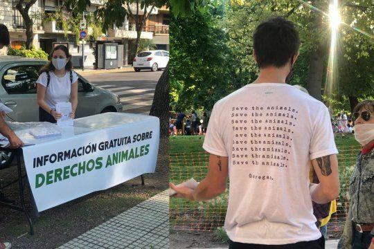 Veganismo en Parques convoca a activistas de distintos puntos del país