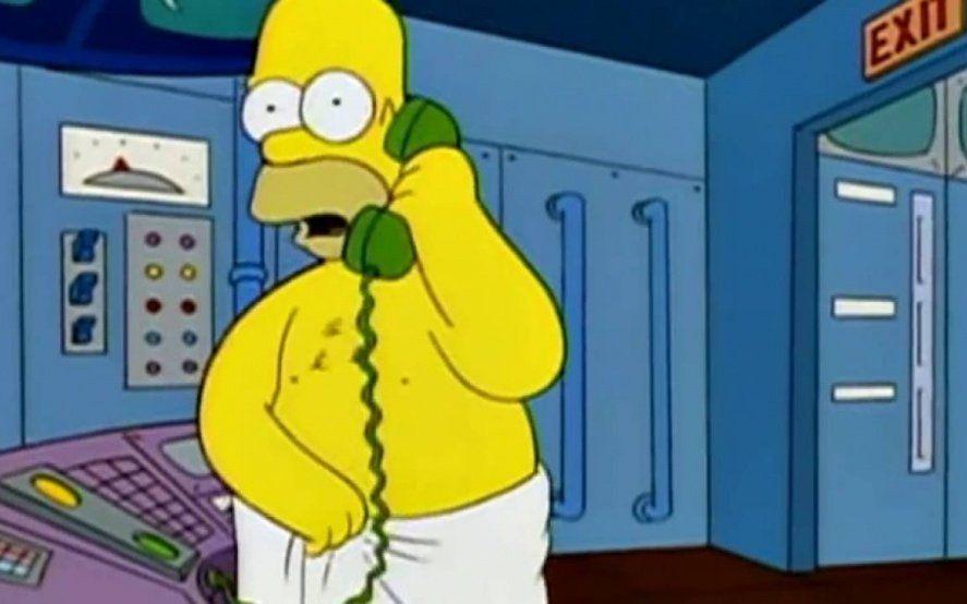 """""""Hable más fuerte tengo una toalla"""": el desopilante hilo viral de twitter con las mejores frases de Los Simpsons"""