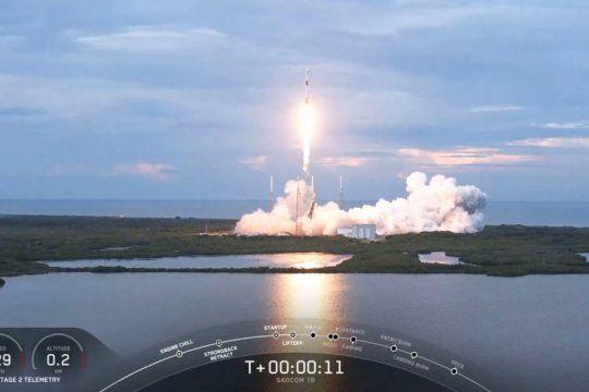 asi fue el lanzamiento del satelite argentino saocom 1b