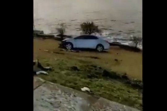 el video viral de un accidente en mar del plata que refloto a un personaje entranable de los 90