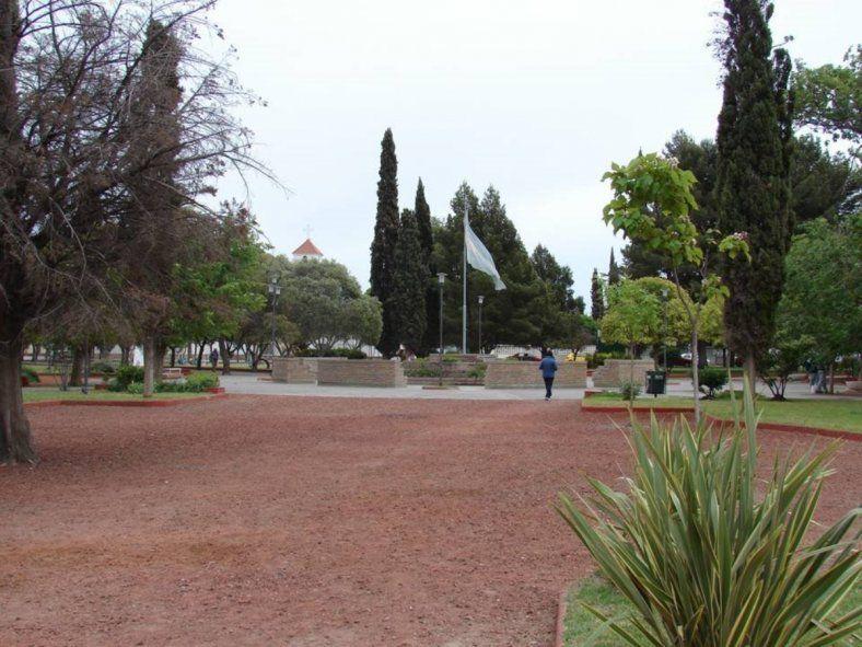 El Municipio de Patagones dispuso un cordón sanitario en Villalonga (Foto: Mapio.net)