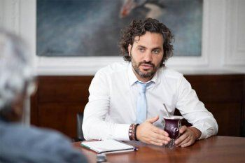 El Jefe de Gbinete Santigo Cafiero