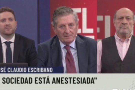 En el pase de programa de Alfredo Leuco y Jonatan Viale, el ex editorialista de La Nación, Claudio Escribano rozó el golpismo y acusó a la sociedad de estar anestesiada