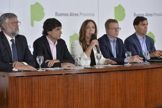vidal oficializo el anuncio de medidas para enfrentar la crisis y fomentar el consumo