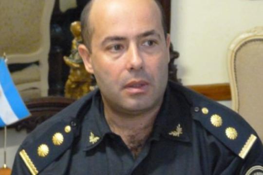 san andres de giles: relevaron al comisario por hablar publicamente sobre la situacion de la fuerza