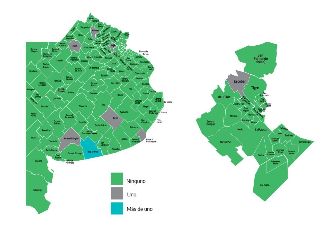 el mapa del alivio: 127 municipios no registraron fallecidos por covid-19