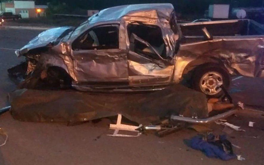 Tragedia en Carmen de Areco: nueve muertos en un choque en el cruce de las rutas 7 y 51