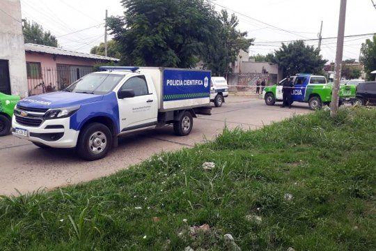 Cuatro delincuentes cometieron la violenta y fatal entradera en Merlo
