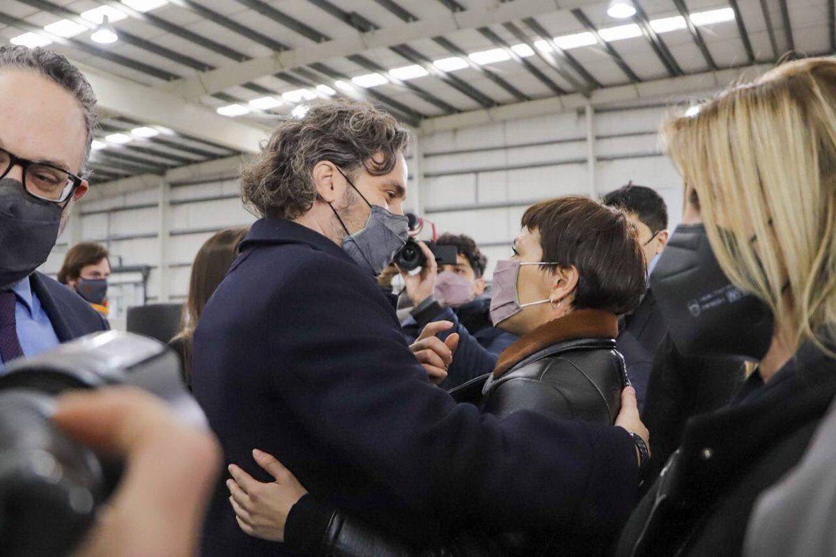 Santiago Cafiero y Mayra Mendoza fueron dos de los dirigentes del Frente de Todos que cuestionaron a Mauricio Macri.