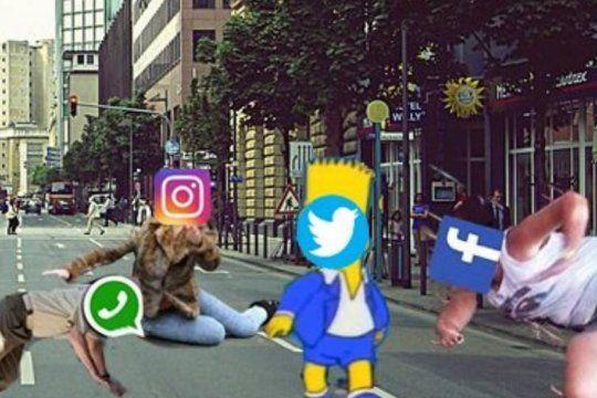 se cayeron instagram y facebook y en twitter aparecieron los memes