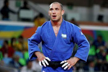La expresión de Lucenti tras la eliminación de los Juegos Olímpicos de Tokio 2020.