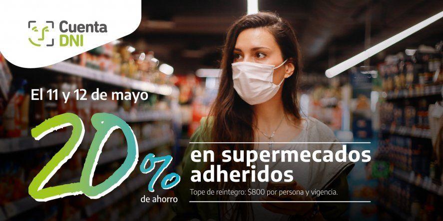 El descuento en supermercados con Banco Provincia será hoy y mañana