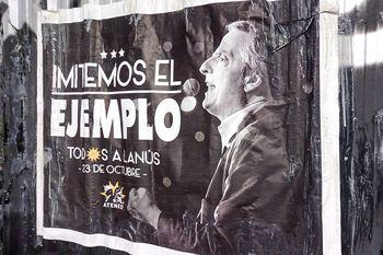 Por la épica: la militancia recuerda a Néstor Kirchner con un acto en Lanús