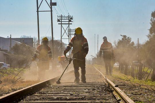 Trenes Argentinos avanza con las obras para extender el tren hasta Pehuajó