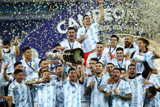La Selección Argentina sigue de festejo.
