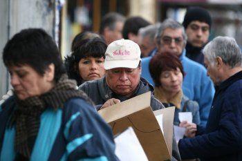 La desocupación subió 2,5 puntos y se ubicó a 13,1% (Foto La Nación)