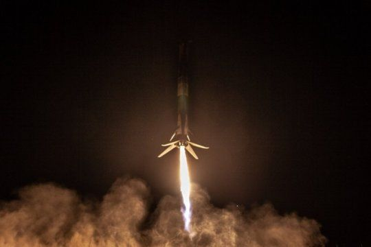 saocom al espacio: revivi el lanzamiento del satelite que ayudara a prevenir desastres naturales
