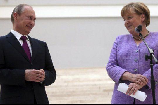 Merkel, Putin y una posible vacuna conjunta