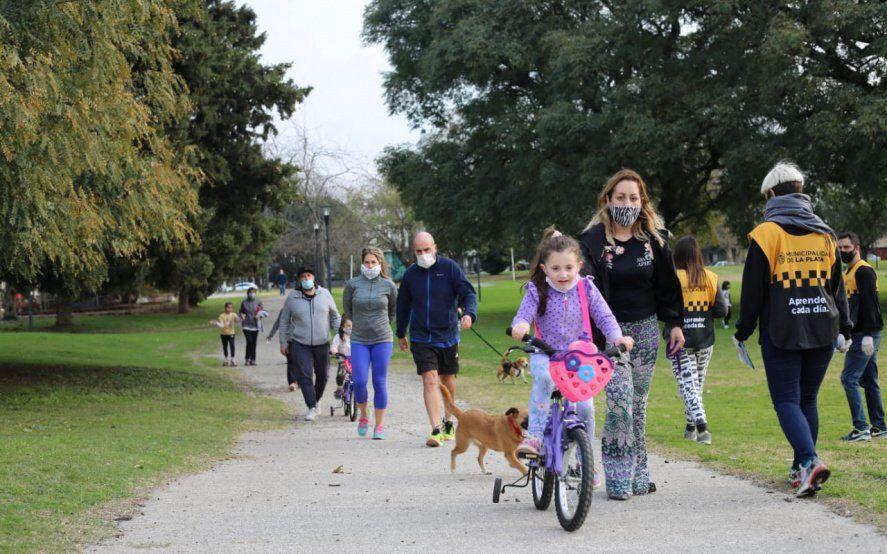 Refuerzan los controles en los parques durante otro fin de semana de cuarentena